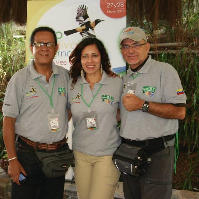 Gustavo Bonnet, Lisette Villarroel y Antonio Pestana