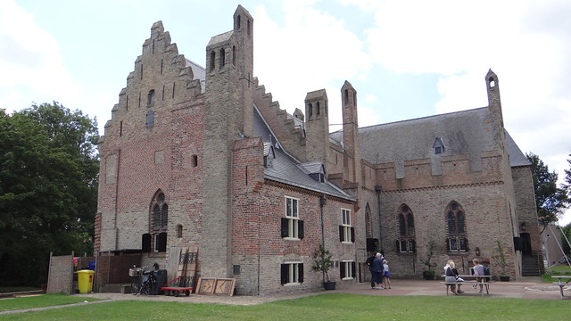 Medemblik. Kasteel Radboud