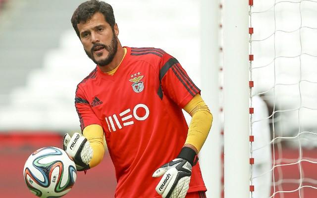 Jornal afirma que J�lio C�sar ir� renovar contrato com Benfica at� 2018