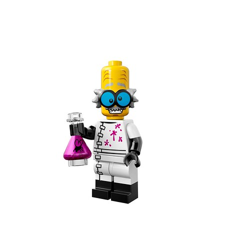 Minifigures serie 14 - Monster Scientist