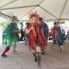 Orange Peel Morris dancing at the wonderful Mill Race Festival