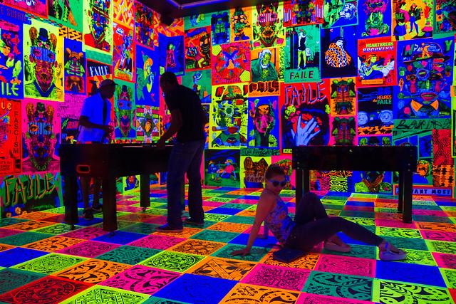 Faile Bast Deluxx Fluxx Arcade, Brooklyn Museum