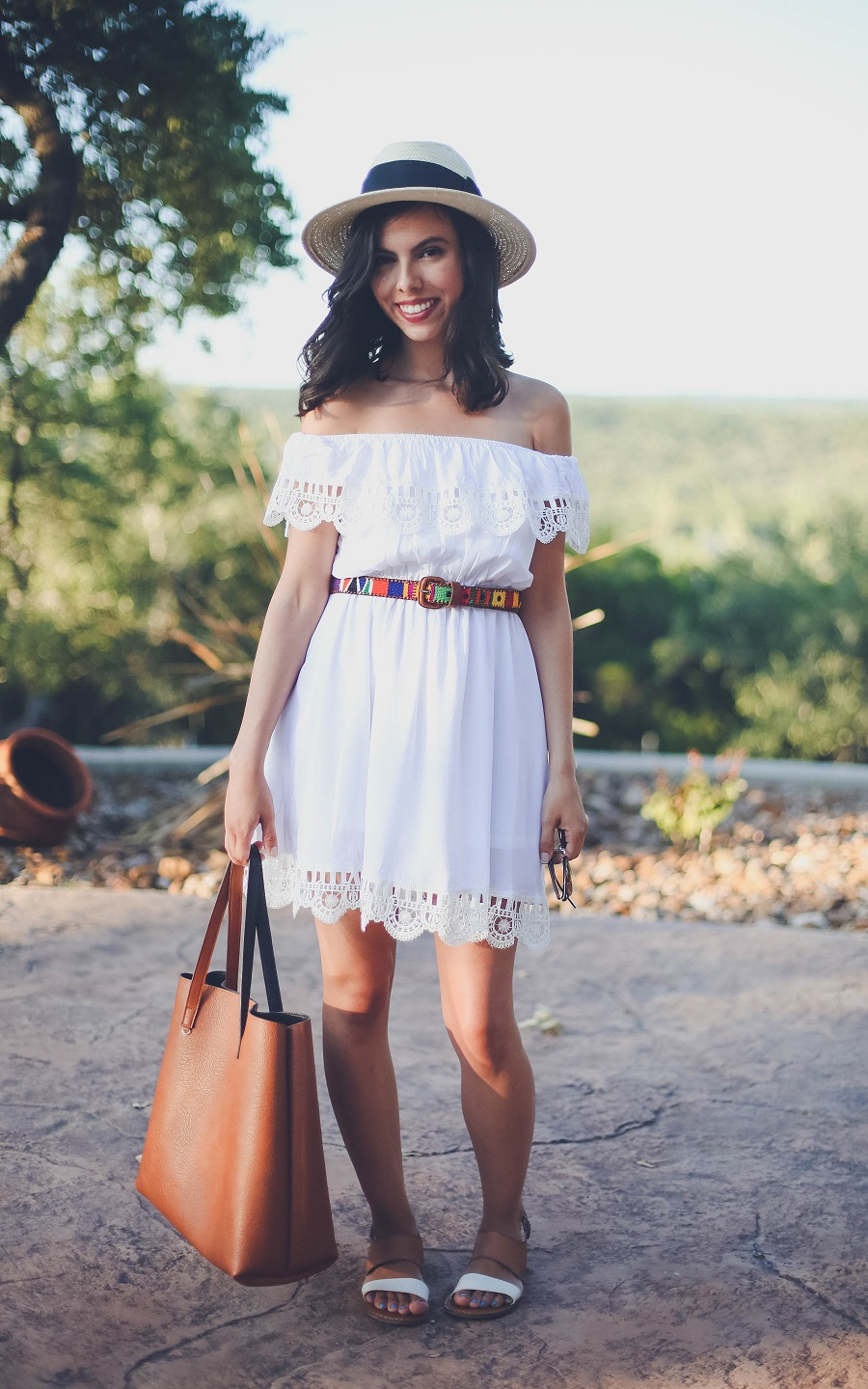 austin texas, austin fashion blog, austin fashion blogger, austin fashion, austin fashion blog, white and blue floral dress, sheinside dress, pinterest dress, off the shoulder dress, austin style, austin style blog, austin style blogger, austin style bloggers, style bloggers, summer dress, white summer dress