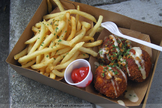 Kokio Republic Tofu Balls and Fries