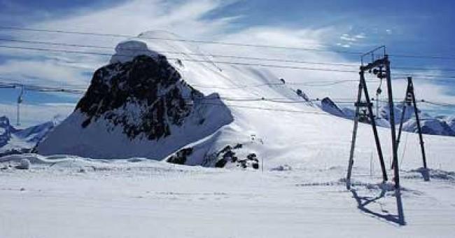 Lyžařské terény Švýcarska