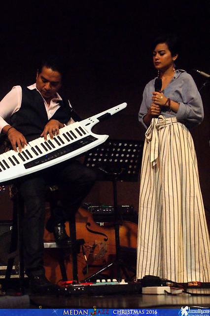 Medan Christmas Jazz - Indra Lesmana Keytar Trio Eva Celia Gerald Situmorang (10)