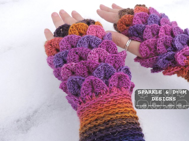 Crocodile FMitts Rainbow01b