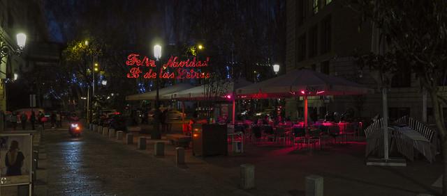 Feliz Navidad - Barrio de Las Letras, Madrid (2016)