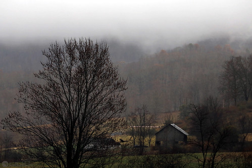 leicester northcarolina rain landscape cloudy janbuchholtz farm blueridgemountains rural barn gloomy