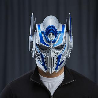 讓你一秒變形柯博文!《變形金剛5:最終騎士》柯博文變聲頭盔 Optimus Prime VOICE CHANGER HELMET