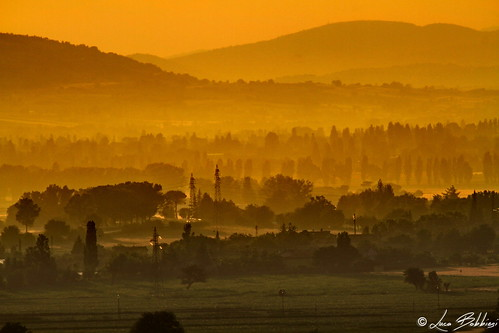 sunset panorama nature landscape tramonto umbria colli canonef100400mmf4556lisusm canoneos7d