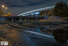 FLEMINGTON BRIDGE empty lake LR WM-