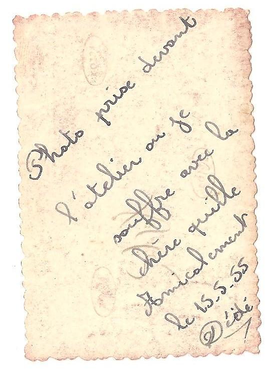 Je suis Pierre Delamesiere  né le 12. 04 .1933.. j ai toujours et encore habite a Saint Gratien (* )...j ai bien connu Dédé a mes débuts de coureur cycliste , lui etait a Argenteuil ( je pense a USA  ? ) nous courrions sur route , moi a VCEO  ( velo club d Epinay Orgemont ) .. apres nous etions ensemble au VCCA ( velo club de Courbevoie Asniere ) Je n ai pas de mémoire qu il est été a ACBB.ou peut etre en fin de ça carriere ????..Au VCCA ; nous avons courru ensemble des américaines au Vel d ' hiv....apres ,nos vies respectives se sont éloignées , pour des activitées professionnelles différentes...mon dernier souvenirs avec lui , nous en avions parlé lors d une manisfestation cycliste au vélodrome de Saint Denis en 1957 ( environ )  ( * ) en 1958 , nous étions champion de France , voir article ci-joint de Fernand Coutif