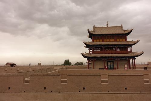 Le fort de Jiayuguan