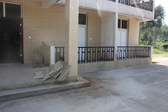 floor, wood, handrail, property, driveway, estate, real estate, facade, concrete, home, flooring, brickwork,