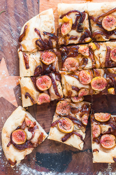 Fresh Fig and Balsamic-Caramelized Onion Focaccia