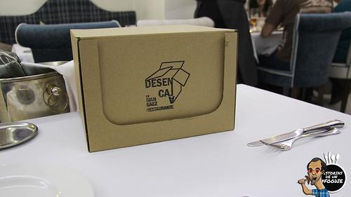 Caja sorpresa en Desencaja
