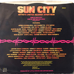 ARTISTS UNITED AGAINST APARTHEID:SUN CITY(JACKET B)