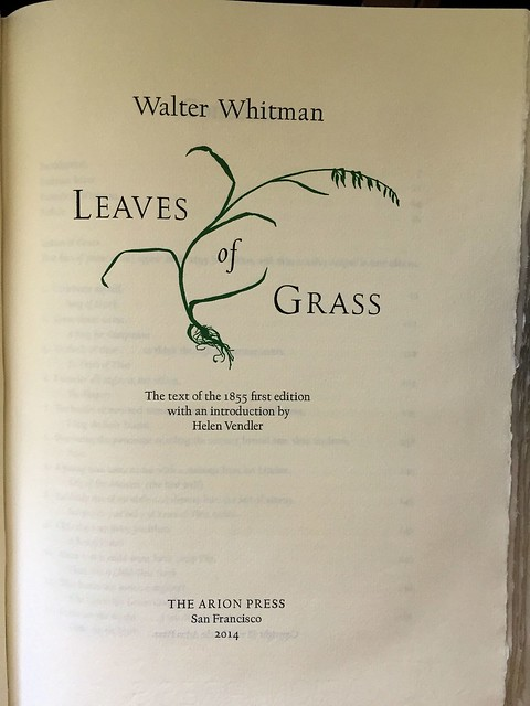 arion leaves of grass