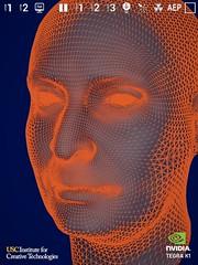 ภาพจำลองใบหน้ามนุษย์ที่สมจริง มาจากโพลิกอนจำนวนมหาศาล