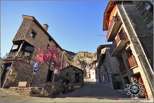Calle de Canillo, Canillo. Andorra.