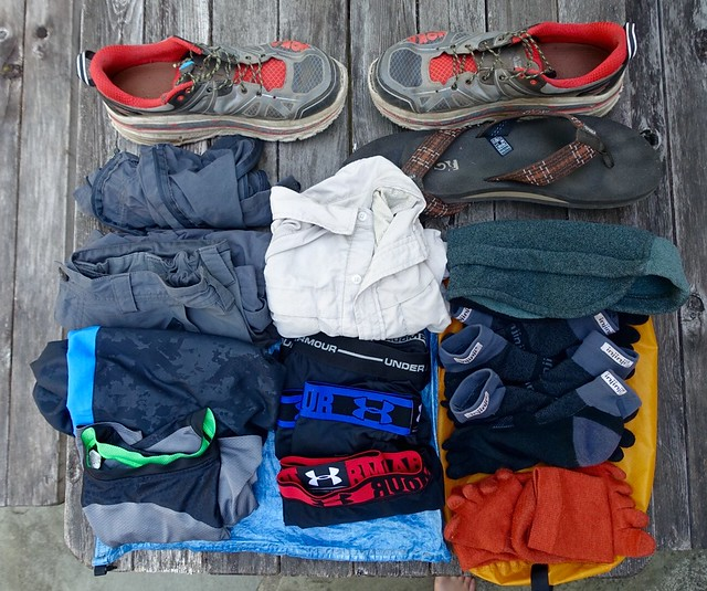 PCT gear: clothing