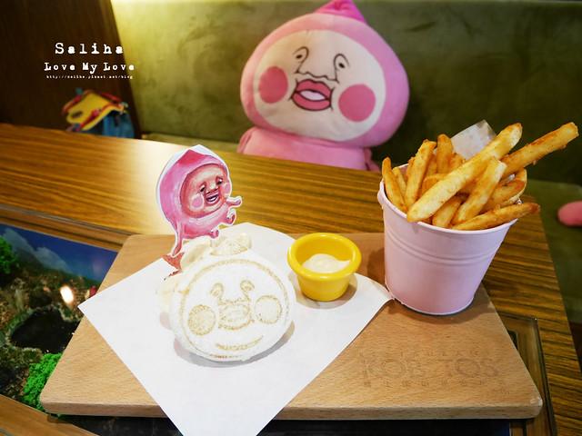 台北東區主題餐廳醜比頭的秘密花園輕食咖啡屁桃 (33)