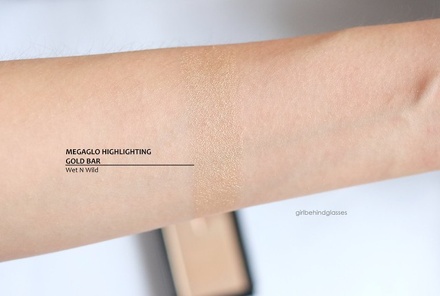 Wet N Wild Megaglo Highlighting Gold Bar swatch