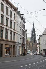 Elisabethenkirche from Afar