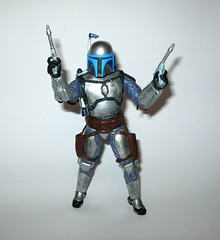 "HASBRO STAR WARS THE FORCE AWAKENS BLACK SERIES 6/"" #15 JANGO FETT"