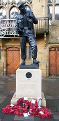 Durham, War Memorial - Durham Light Infantrymen
