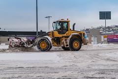 Schweden Schneepflug