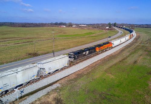 NS Train 173 Mid Units