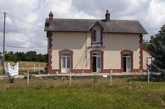 Old train station of La Chapelle-Gauthier