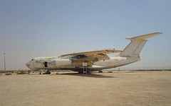 Abandoned Russian Air Craft