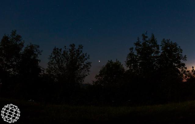 Giove e Venere   30 giugno 2015