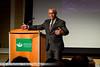 Charles Bolden speaks at the International Space University