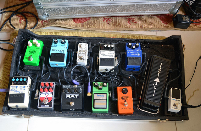 Photo:Pedalboard July 2015 By marcelodonati