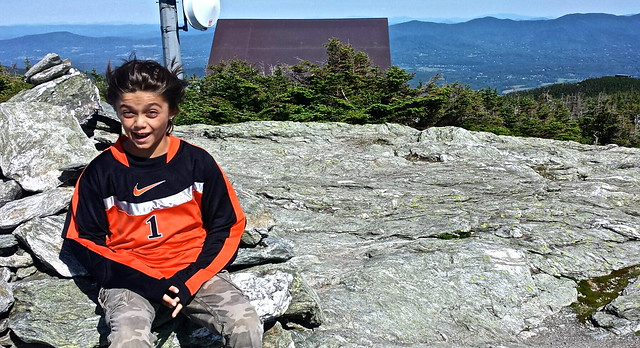windy - Mount Mansfield Toll Road