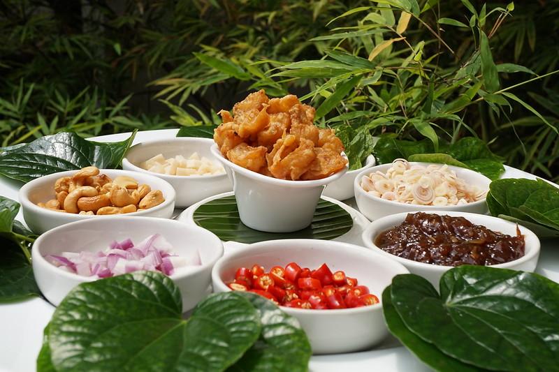 Samadhi Food Festival 2015 Tamarind Hill Crispy Garupa Miang Kham