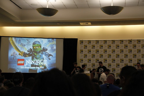 LEGO Ninjago SDCC 2015 Panel