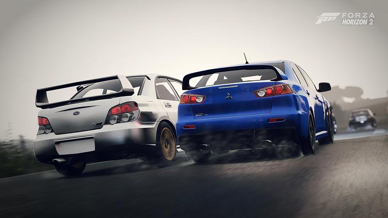 2008 Mitsubishi Lancer GSR Evolution X | 2005 Subaru Impreza WRX STi