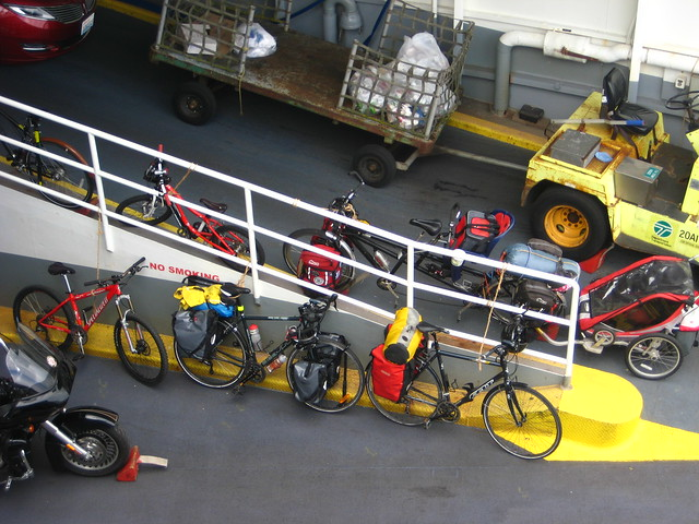 Bike Parking, MV Chelan