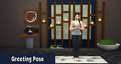 Yoga 1 Greeting Pose