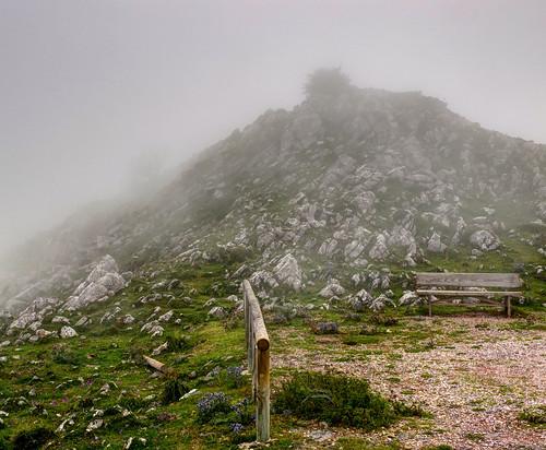 Niebla en el Angliru