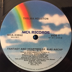 THELMA HOUSTON:FANTASY AND HEARTBREAK(LABEL SIDE-A)