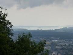 Der Bodensee von der Festung Hohentwiel aus