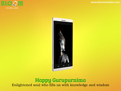 Happy Guru Purnima Enlightened Soul Who Fills Us With Knowledge And Wisdom Bloom Mobiles 03 07 2015