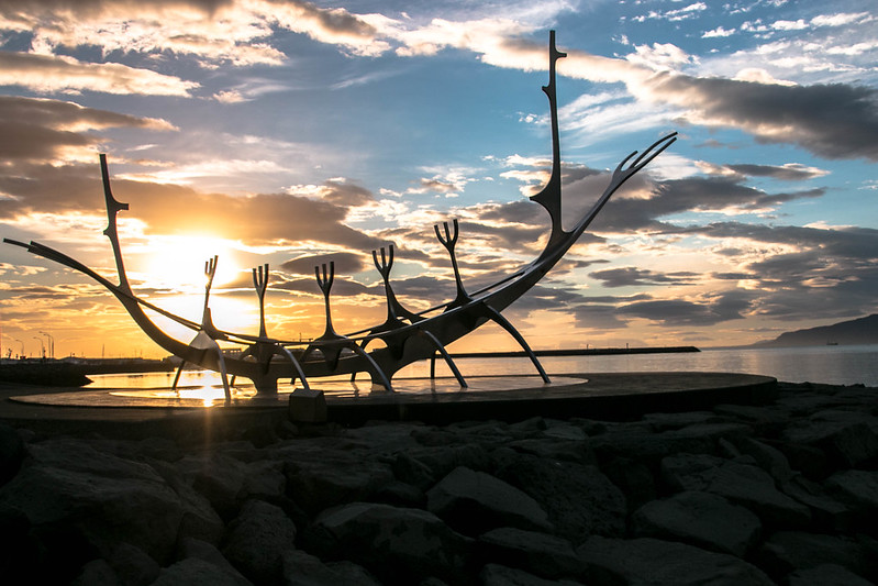 the sun voyager statue reykjavik