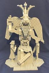 Lego Baphomet Statute